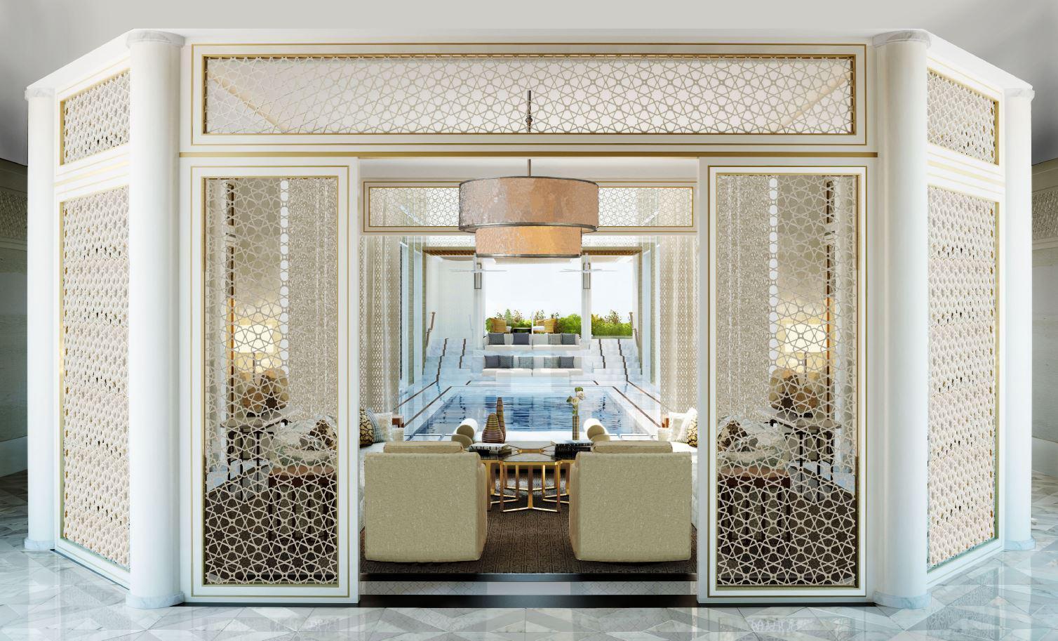 Sliding doors in Mandarin Oriental Hotel - Helaform
