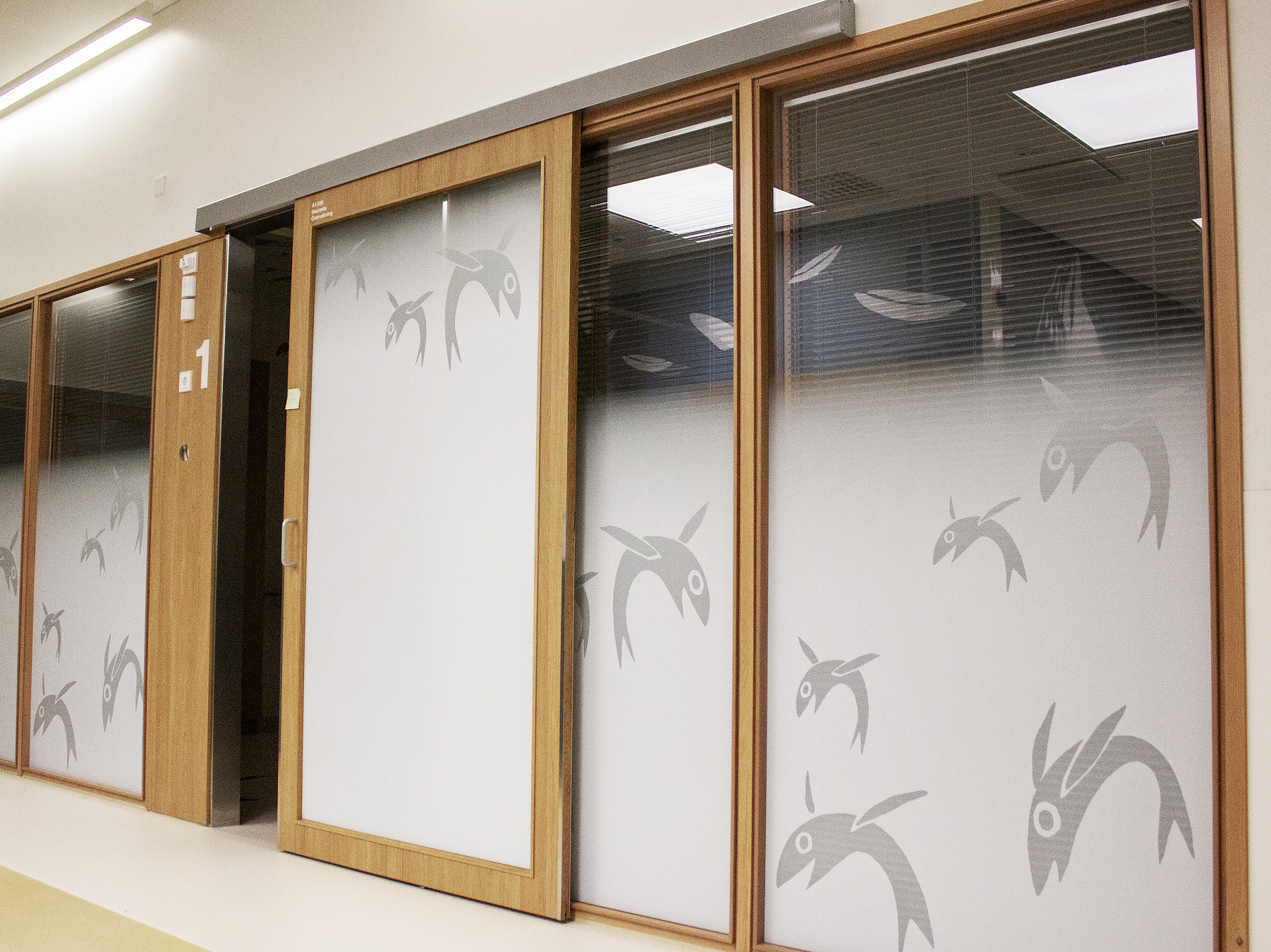 Sliding Door Solution For Hospital Easy Install And Clean